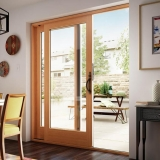porta de vidro na cozinha Praia Grande