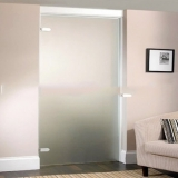 porta de vidro no quarto Diadema