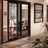 porta de vidro para cozinha São Vicente
