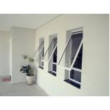 preço de janela de vidro basculante Paulínia