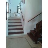procuro por corrimão para escada de vidro Jardim São Luiz