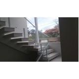 quanto custa corrimão de vidro para escada Vila Prudente
