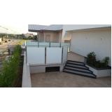 quanto custa corrimão de vidro para varanda São Caetano do Sul