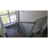 quanto custa corrimão de vidro residencial Vila Leopoldina