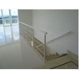 quanto custa corrimão para escada de ferro Parque São Rafael