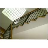 quanto custa instalação de corrimão para escadas Jardim América