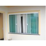 quanto custa janela de vidro com grade Embu Guaçú