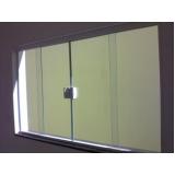 quanto custa janela de vidro duas folhas Anália Franco