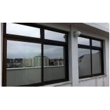 quanto custa janela de vidro espelhado Pari