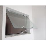 quanto custa janela de vidro pequena Araraquara