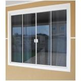 quanto custa janela de vidro quatro folhas Casa Verde