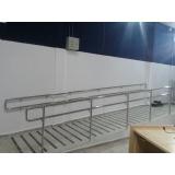 serviço de instalação de corrimão e guarda-corpo em aço inox Caieiras