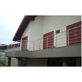 valor de corrimão de parede em aço inox Iguape